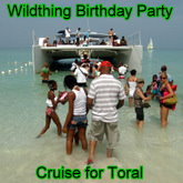 Wildthing Birthday Party for Toral Cruise to Half Moon Beach, Snorkeling, and Toots and the Maytails.